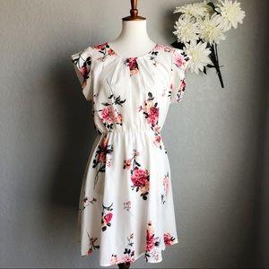 Sweet Rain Floral Dress